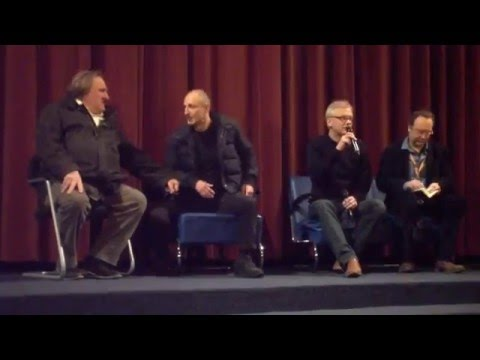 "Berlinale 2016 - Gérard Depardieu talks about ""The End"""