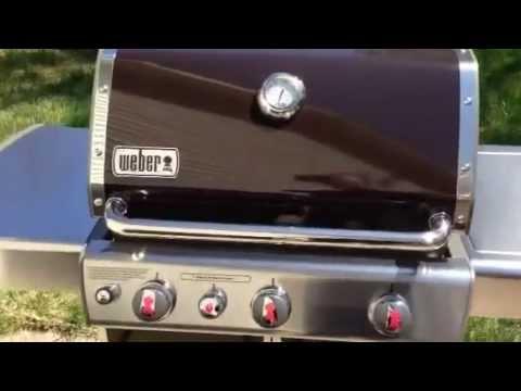 Weber Genesis E 330 Bbq Grill Walk Around Youtube