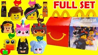 2019 The Lego Movie 2 McDonald's Happy Meal Toys Full Set