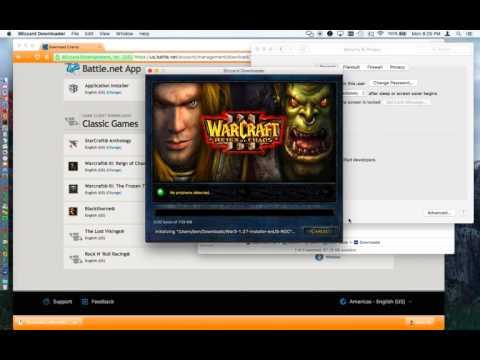 Install Warcraft 3 Natively on Mac OS X - patch 1.27a