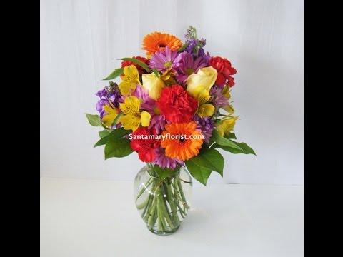 Santamary Florist Autumn Video