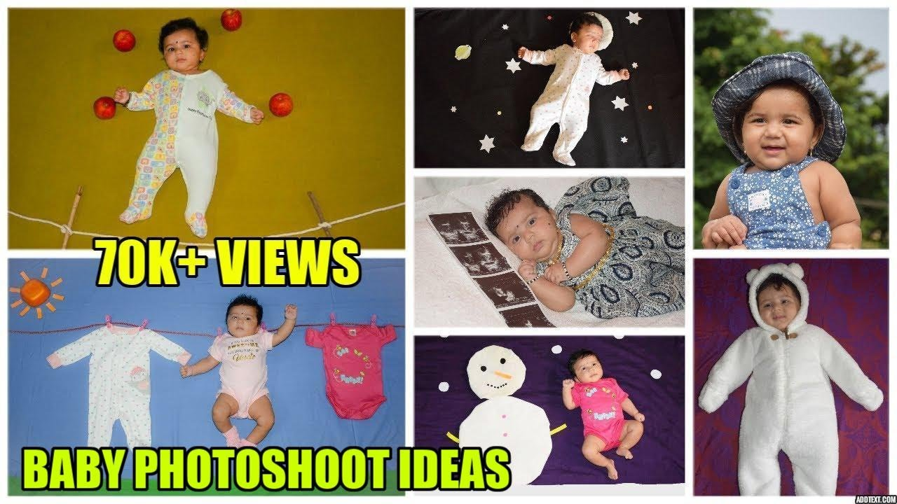 Baby photoshoot ideas at home cute ideas for baby pictures srishtis photoshoot