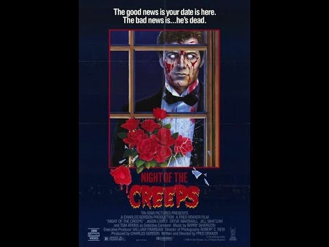 Night of the creeps 1986 Fred dekker jason lively Tom Atkins zombies movie review