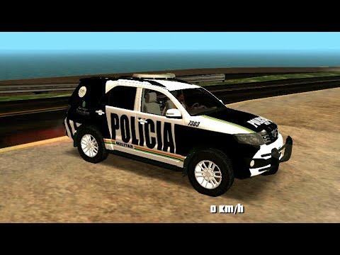 GTA-SA ANDROID NOVA HILUX SW4 DA PMCE