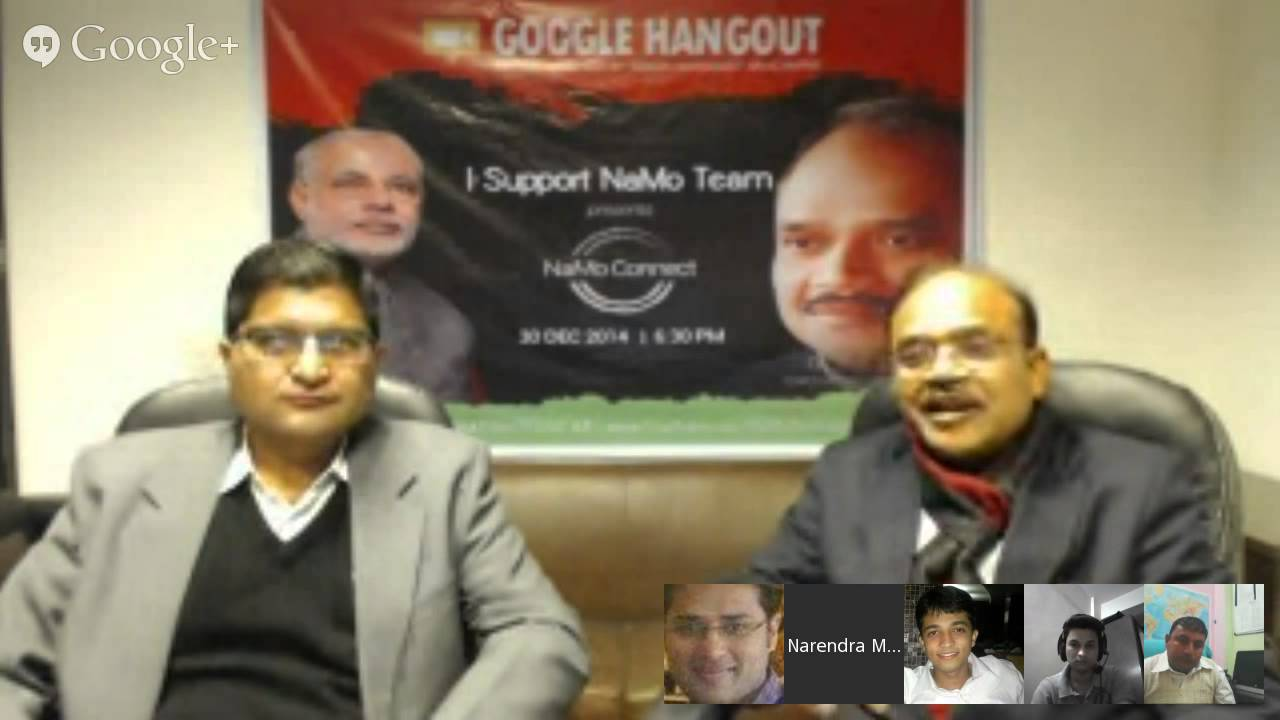 Hangout With Dr. Anil Jain on BJP's vision and mission on Delhi election.