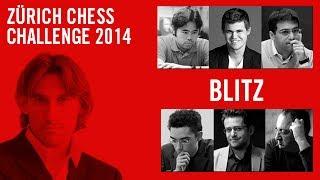 Zuerich Chess Challenge 2014 Blitz tournament
