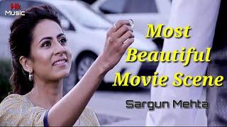 Sargun Mehta Propose scene from Jindua Movie/Most beautiful scene/Hk Movie Diary