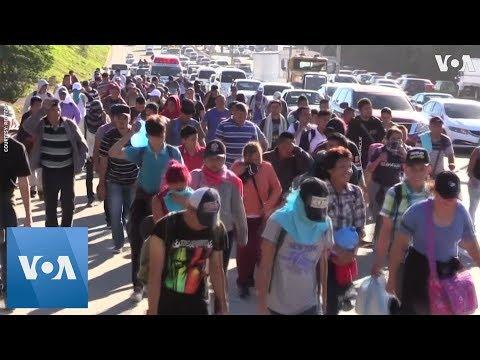 Migrants Depart From El Salvador As New U.S.-Bound Caravan Forms
