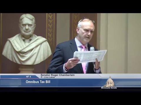 Senate Passes Republican Tax Relief Plan