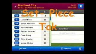 Football Manager Handheld 2010 For Iphone basic overview/tutorial.