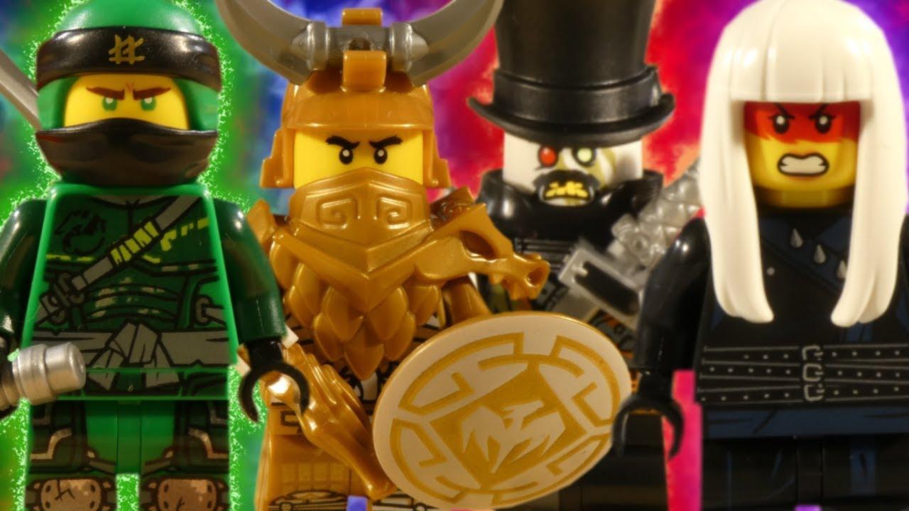 LEGO NINJAGO MEGA BATTLE COMPILATION - HUNTED - SONS OF GARMADON