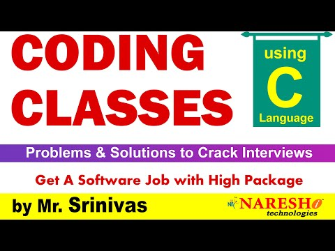 Coding Skills using C Language @ 2:00 PM | Session-21 | by M