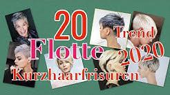 Trendfrisuren 2020 Kurzhaarschnitte 2020 trend short hairs 2020 trend kısa saç modelleri 2020