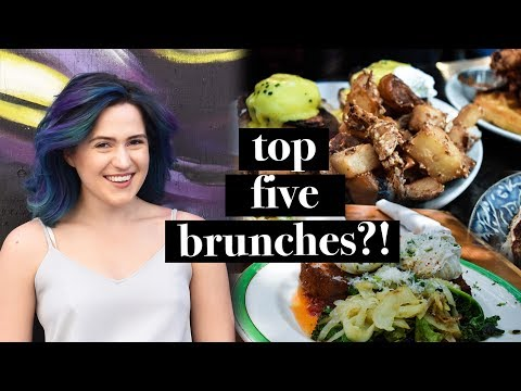 THE BEST BRUNCH IN TORONTO | TOP 5 EATS | HONESTLY MORGAN