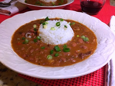 Red Beans And Rice Recipe - Slow Cooker Recipe - Episode #293