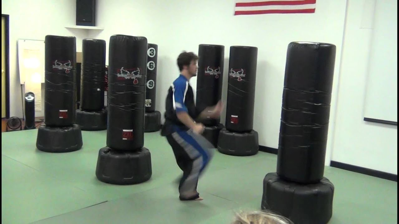 Will Mallmann Taekwondo Bicycle Kick 4 Times To Bag