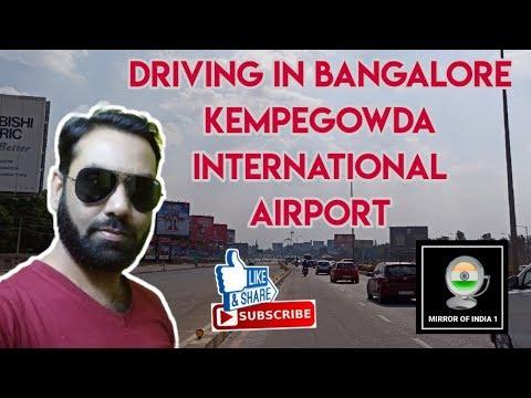 Driving In Bangalore | Kempegowda International Airport | Karnataka | Mirror Of India 1
