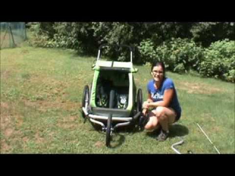croozer kid for 2 3 in 1 stroller review youtube. Black Bedroom Furniture Sets. Home Design Ideas