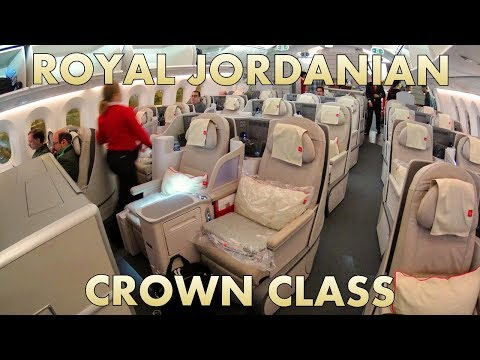 Royal Jordanian Crown Class quick seat tour