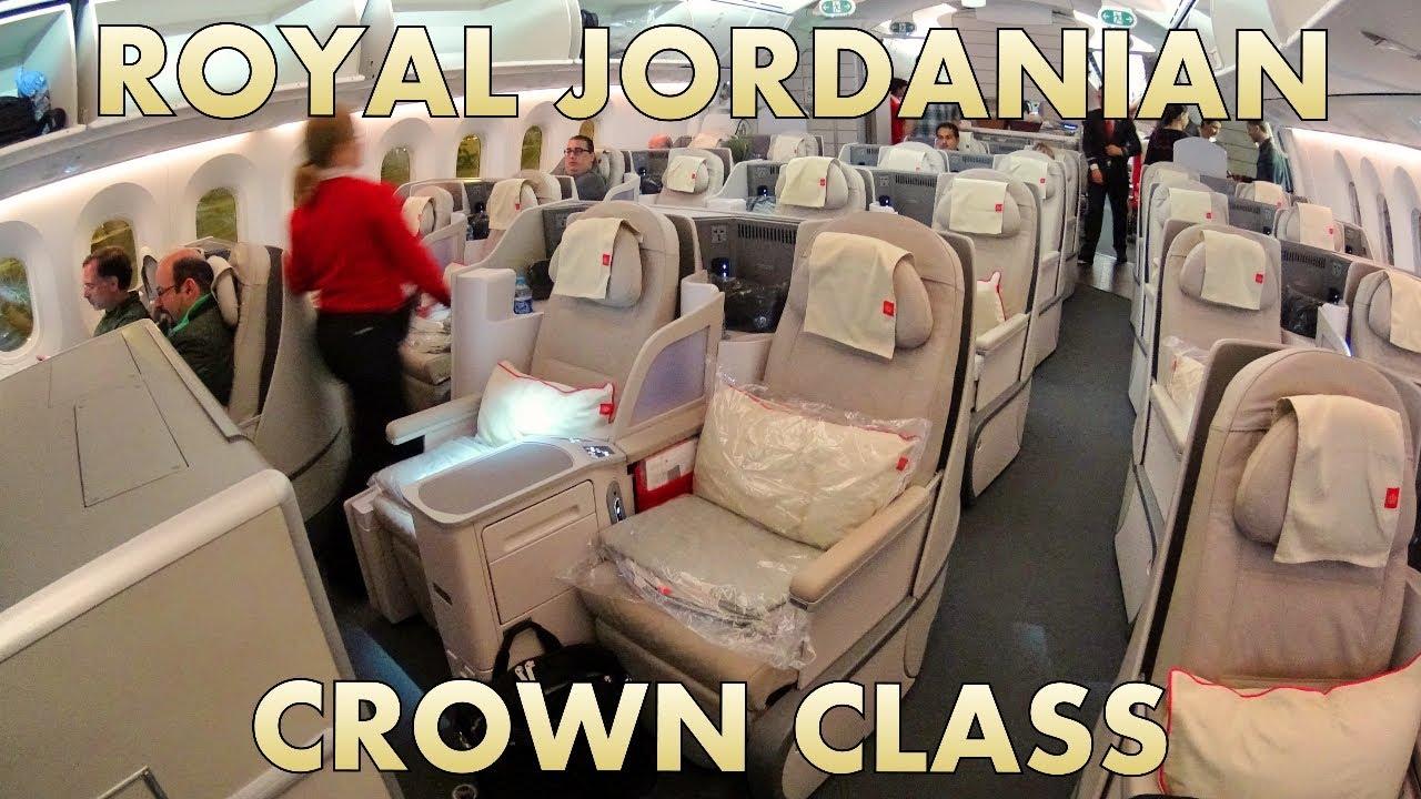 723754fe64c04 Royal Jordanian Crown Class quick seat tour. Luxury Fred