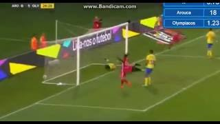 Video Gol Pertandingan Arouca vs Olympiakos Piraeus