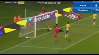 Video Gol Pertandingan Arouca vs Olympiakos