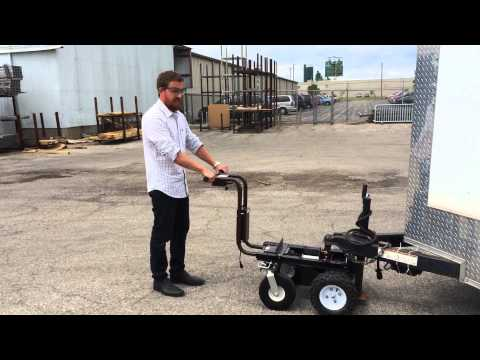 Motorized Trailer Dolly Electric Battery Boat Dolly Mov
