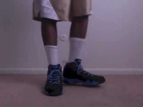e525f3a3eb256e Air Jordan 9 Retro Slim Jenkins on feet - YouTube
