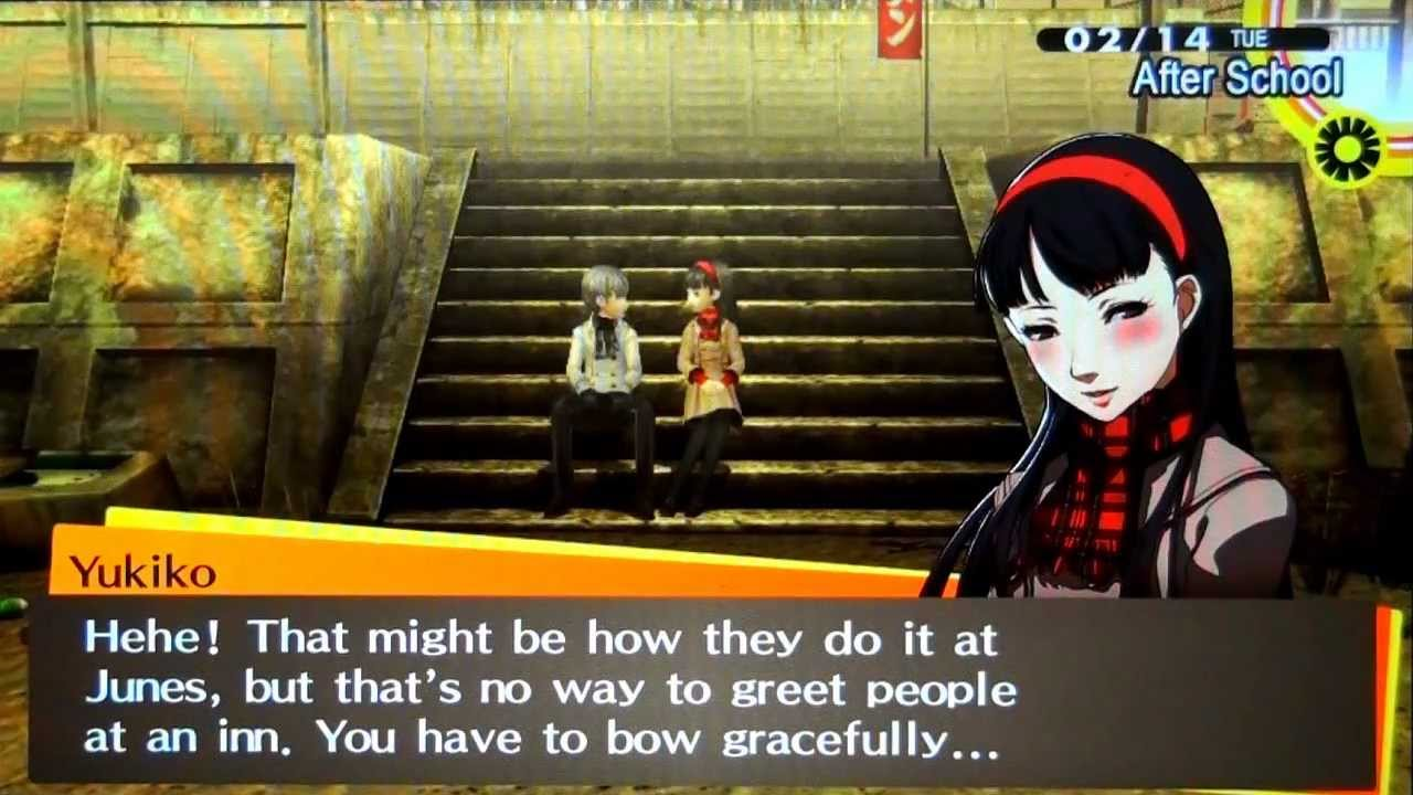 Persona 4 dating val