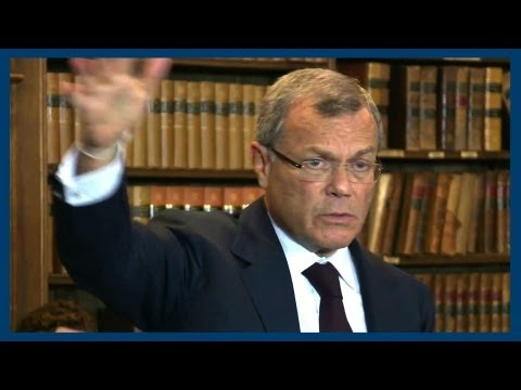 Hostile Takeovers | Sir Martin Sorrell | Oxford Union