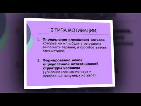 Презентация на тему Мотивация персонала