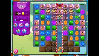 Candy Crush Level 4703 Talkthrough, 27 Moves 0 Boosters