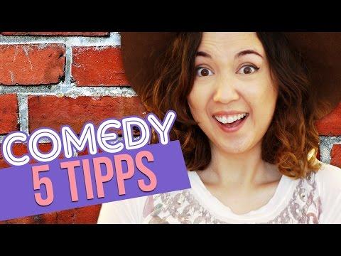 Lustig werden | Comedy Geheimnisse & Tipps