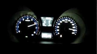 Hyundai Veloster Turbo 2012 EU version acceleration 0 220 km h