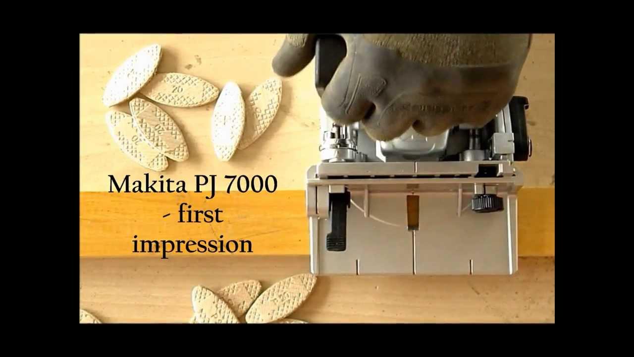 Makita Pj 7000 First Impression Youtube