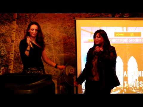 Russian Karaoke San Diego. Falling apart; by Ally&Sonja