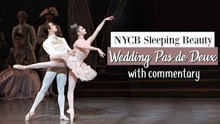 NYCB Sleeping Beauty Wedding Pas de Deux with Commentary | Kathryn Morgan