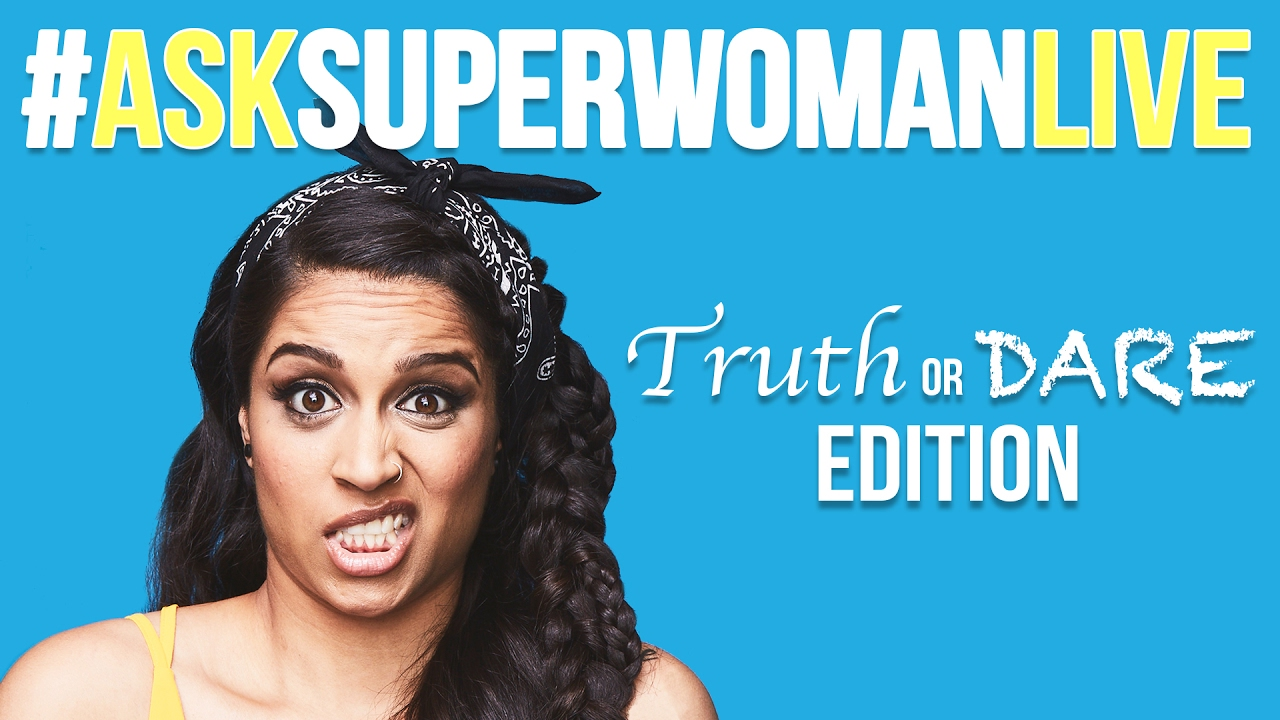 #AskSuperwomanLIVE - TRUTH OR DARE - YouTube