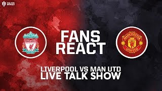 LIVERPOOL 2  MAN UTD 0: Premier League Live Reaction And Phone In