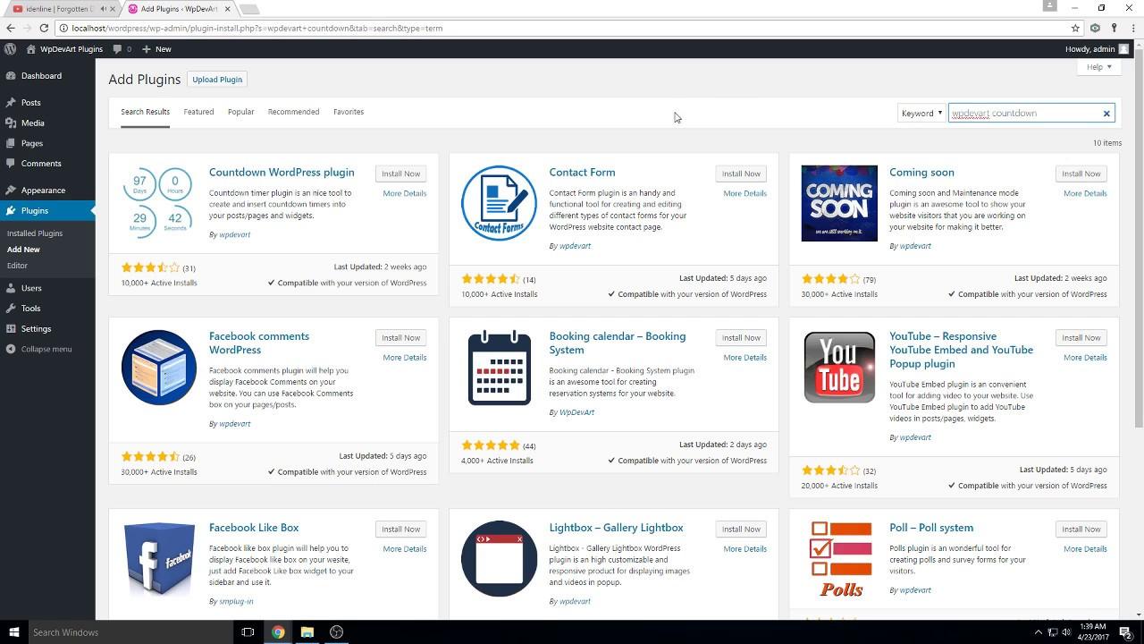 Countdown Timer – Widget Countdown – WordPress plugin | WordPress org