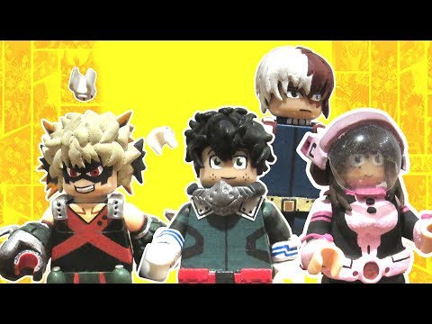 LEGO My Hero Academia Custom Minifigures Part 1