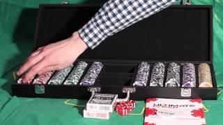 Обзор покерного набора Nuts на 500 фишек