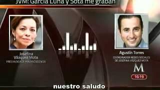Alejandra Sota y García Luna me graban: Vázquez Mota