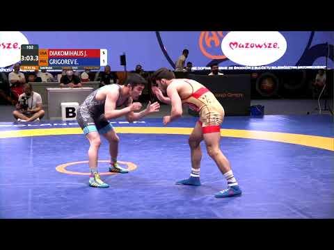 Циолковский-2021 Варшава Польша 65 кг финал:Янни Диакомихалис (США)-ЭДУАРД ГРИГОРЬЕВ (Польша)