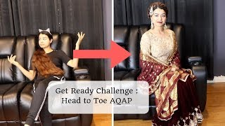 Get Ready: Challenge Video| Tips To do party makeup under 15 mins