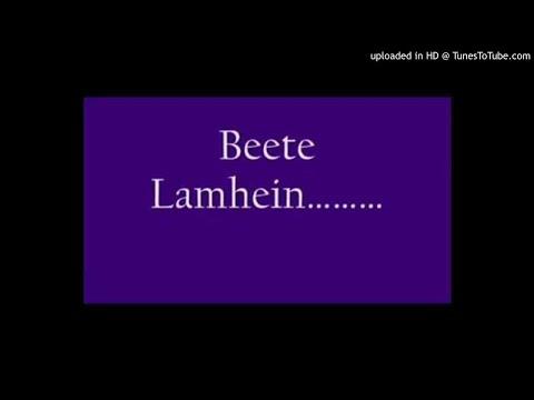 Beete Lamhe From The Train(2007) by Prateek Patni
