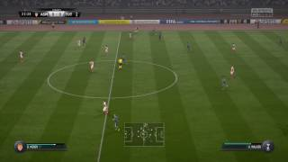 Monaco vs Spurs HD Champions League Gameplay Highlights FIFA 17