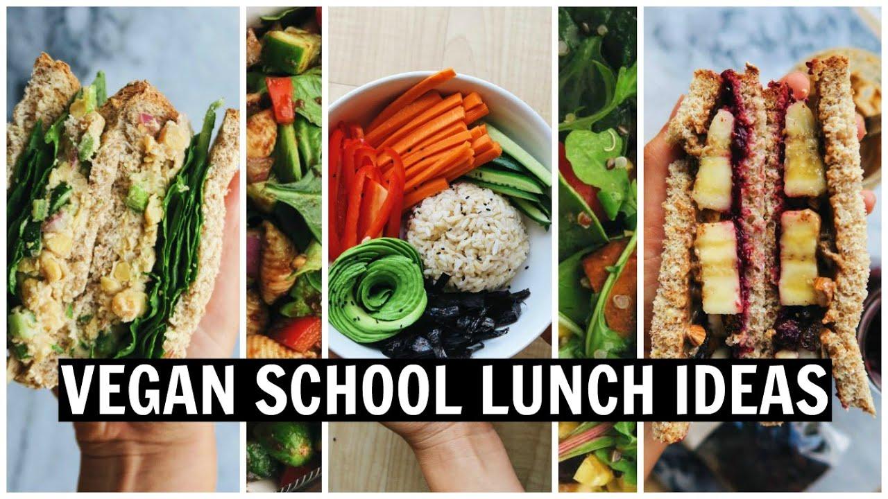 VEGAN SCHOOL LUNCH IDEAS! [ Easy, Healthy, Oil Free ]