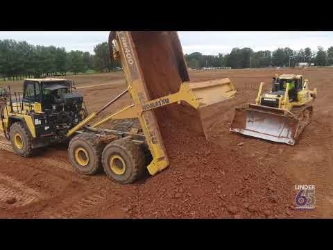 Komatsu Equipment Excels At Utility Work - Centerline Contractors - Linder Industrial Machinery