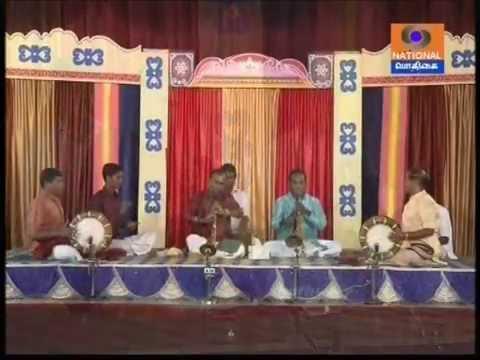 Nadaswaram Vyasarpadi G Kodandaraman 01 Shanmukhapriya Siddhi Vinayakam RupakaTalam